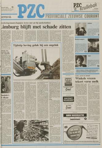 Provinciale Zeeuwse Courant 1992-04-14