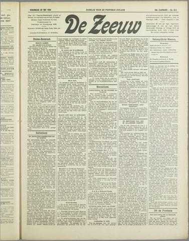 De Zeeuw. Christelijk-historisch nieuwsblad voor Zeeland 1934-05-30