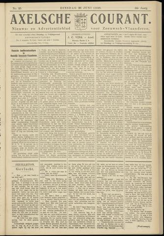 Axelsche Courant 1928-06-26