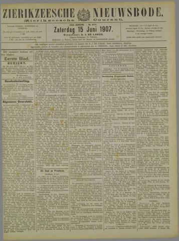 Zierikzeesche Nieuwsbode 1907-06-15