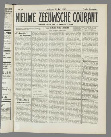 Nieuwe Zeeuwsche Courant 1908-07-16