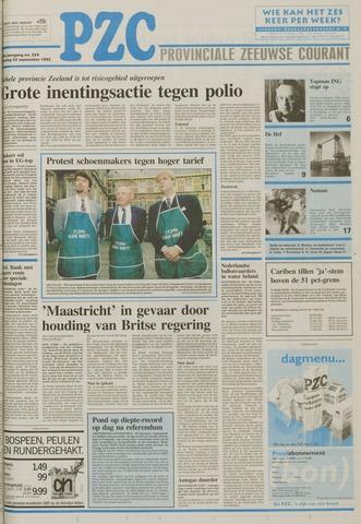 Provinciale Zeeuwse Courant 1992-09-22