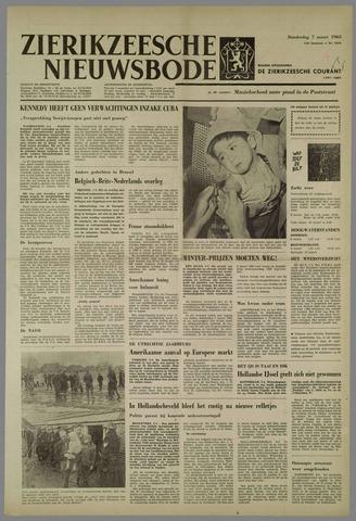 Zierikzeesche Nieuwsbode 1963-03-07