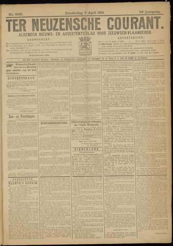 Ter Neuzensche Courant. Algemeen Nieuws- en Advertentieblad voor Zeeuwsch-Vlaanderen / Neuzensche Courant ... (idem) / (Algemeen) nieuws en advertentieblad voor Zeeuwsch-Vlaanderen 1914-04-09