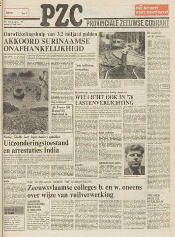Provinciale Zeeuwse Courant 1975-06-27