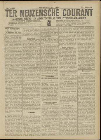Ter Neuzensche Courant. Algemeen Nieuws- en Advertentieblad voor Zeeuwsch-Vlaanderen / Neuzensche Courant ... (idem) / (Algemeen) nieuws en advertentieblad voor Zeeuwsch-Vlaanderen 1942-07-01