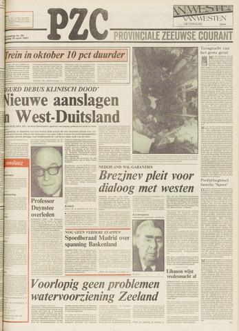 Provinciale Zeeuwse Courant 1981-04-16