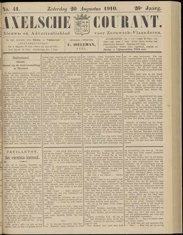 Axelsche Courant 1910-08-20