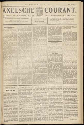 Axelsche Courant 1931-01-30