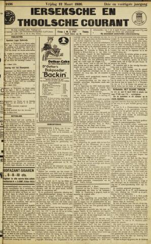 Ierseksche en Thoolsche Courant 1926-03-12