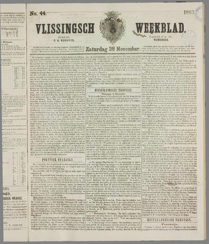 Vlissings Weekblad 1863-11-28