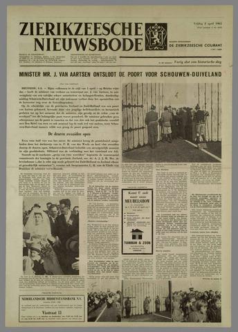 Zierikzeesche Nieuwsbode 1965-04-02