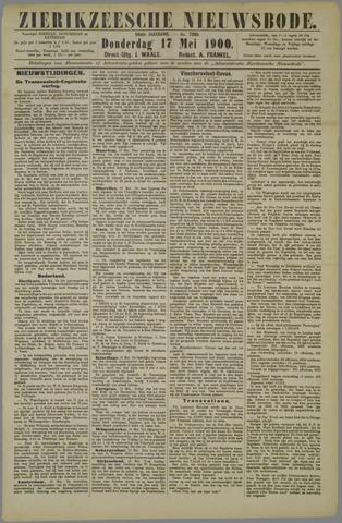Zierikzeesche Nieuwsbode 1900-05-17