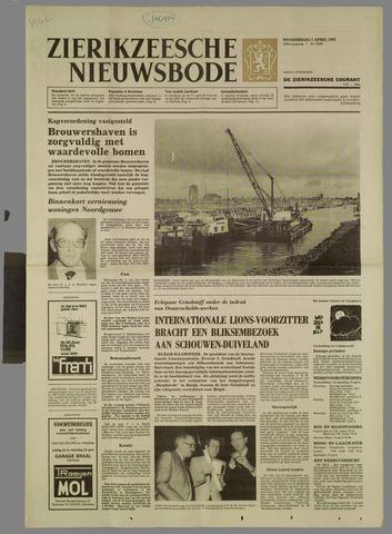 Zierikzeesche Nieuwsbode 1983-04-07