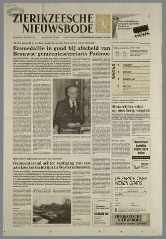 Zierikzeesche Nieuwsbode 1991-12-02