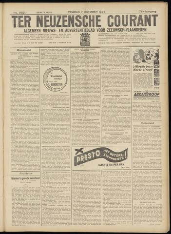 Ter Neuzensche Courant. Algemeen Nieuws- en Advertentieblad voor Zeeuwsch-Vlaanderen / Neuzensche Courant ... (idem) / (Algemeen) nieuws en advertentieblad voor Zeeuwsch-Vlaanderen 1938-10-07