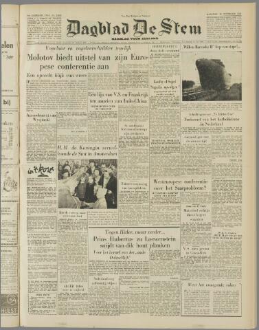 de Stem 1954-11-22