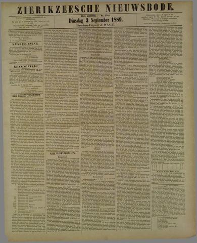 Zierikzeesche Nieuwsbode 1889-09-03