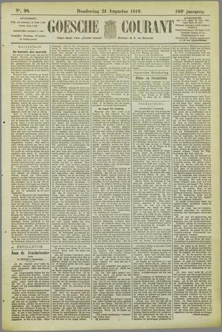 Goessche Courant 1919-08-21