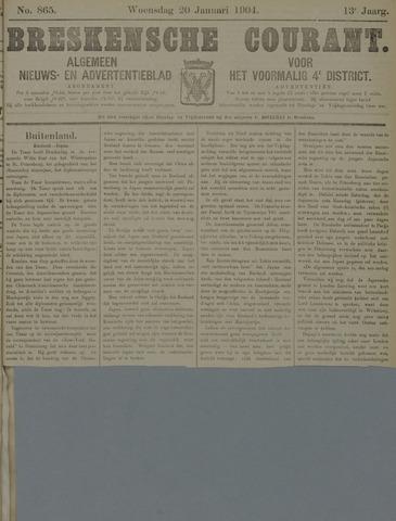 Breskensche Courant 1904-01-20