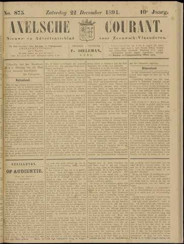 Axelsche Courant 1894-12-22
