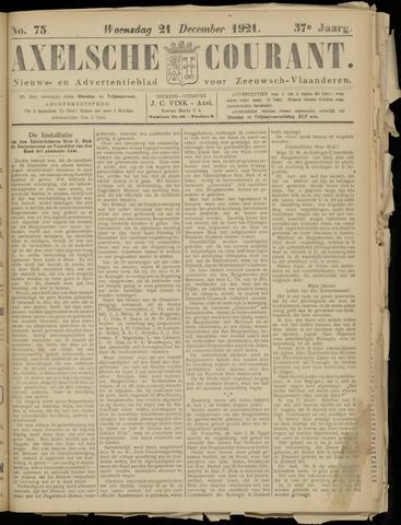 Axelsche Courant 1921-12-21