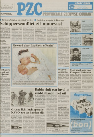 Provinciale Zeeuwse Courant 1993-07-29