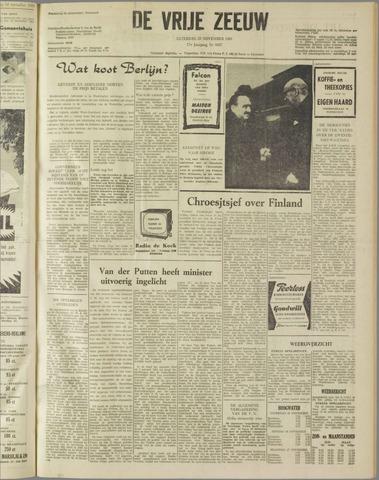 de Vrije Zeeuw 1961-11-25