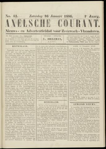 Axelsche Courant 1886-01-16