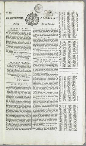 Zierikzeesche Courant 1824-11-19