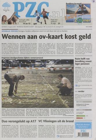 Provinciale Zeeuwse Courant 2010-08-23
