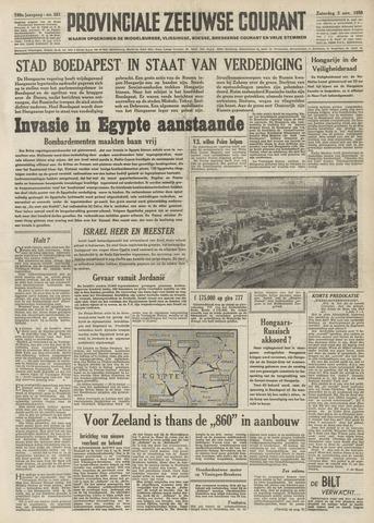 Provinciale Zeeuwse Courant 1956-11-03