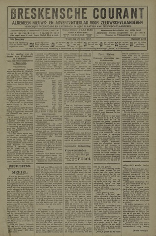 Breskensche Courant 1927-06-29