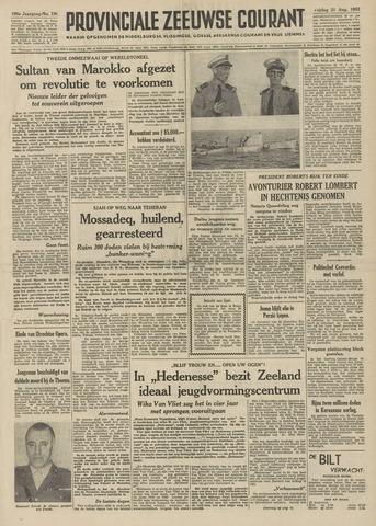 Provinciale Zeeuwse Courant 1953-08-21