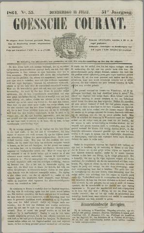 Goessche Courant 1864-07-21