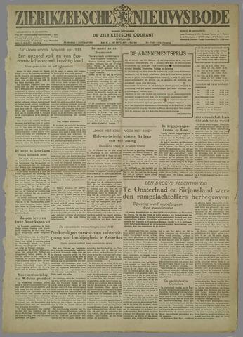 Zierikzeesche Nieuwsbode 1954-01-02