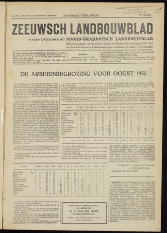 Zeeuwsch landbouwblad ... ZLM land- en tuinbouwblad 1952-02-02