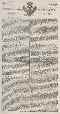Middelburgsche Courant 1771-04-02