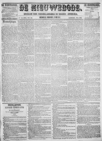 Sheboygan Nieuwsbode 1857-05-12