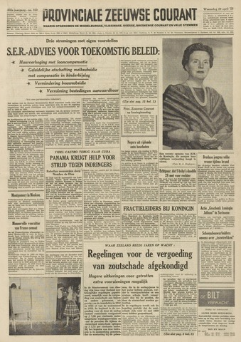 Provinciale Zeeuwse Courant 1959-04-29