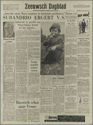 Zeeuwsch Dagblad 1961-02-13