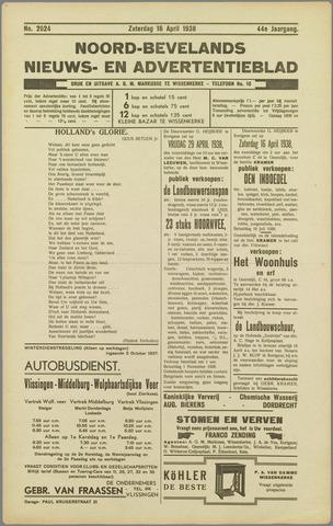 Noord-Bevelands Nieuws- en advertentieblad 1938-04-16