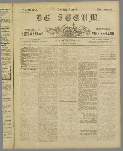 De Zeeuw. Christelijk-historisch nieuwsblad voor Zeeland 1901-04-16