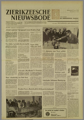 Zierikzeesche Nieuwsbode 1970-05-21