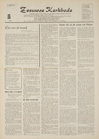 Zeeuwsche kerkbode, weekblad gewijd aan de belangen der gereformeerde kerken/ Zeeuwsch kerkblad 1969-03-27