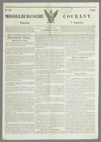 Middelburgsche Courant 1860-08-07