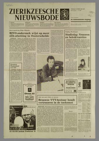 Zierikzeesche Nieuwsbode 1987-02-06