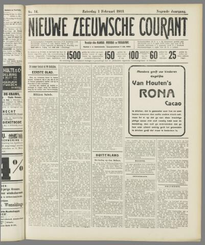 Nieuwe Zeeuwsche Courant 1913-02-01