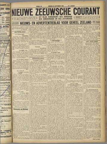 Nieuwe Zeeuwsche Courant 1923-09-25