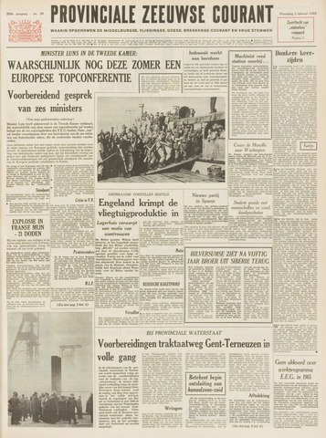 Provinciale Zeeuwse Courant 1965-02-03